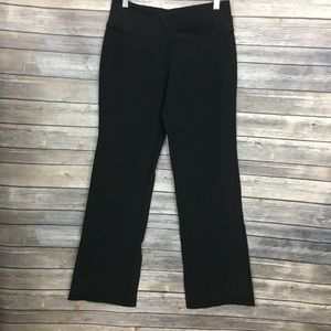 Lululemon Black Wide Leg Yoga Pants